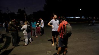 8,1-es erősségű földrengés volt Mexikónál