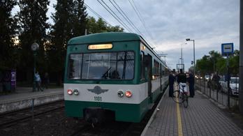 Pótlóbusz jár a HÉV helyett a Batthyány tér és Békásmegyer között hétvégén
