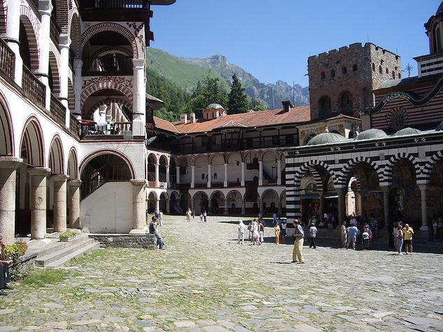 A rilai kolostor