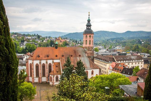 Baden-Baden, a híres német fürdőváros