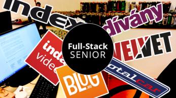 Senior full-stack fejlesztőt keresünk