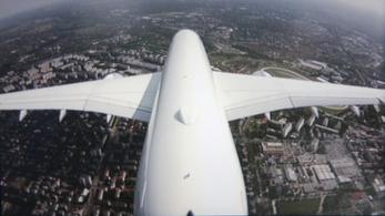 Madárként suhanunk az Airbus csúcsgépével