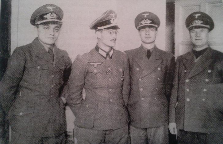Fettich Nándor (j) és László Gyula (j2)