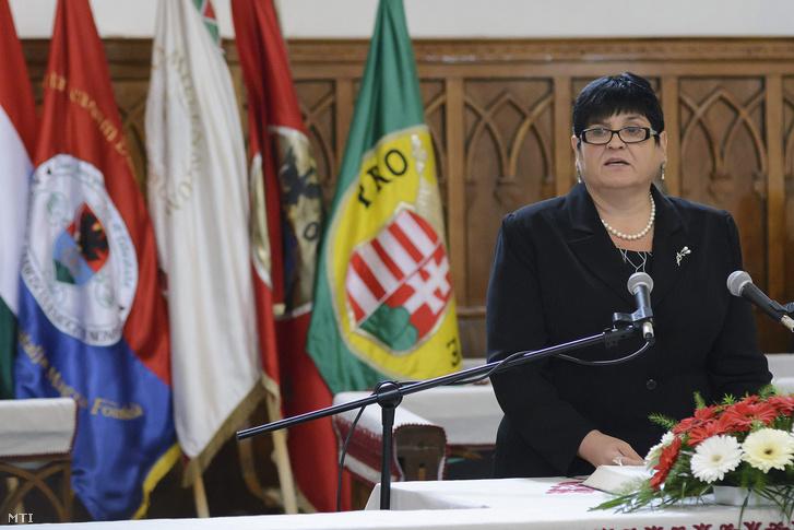 Dr. Orosz Ildikó, a II. Rákóczi Ferenc Kárpátaljai Magyar Főiskola elnöke