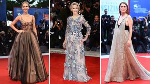 Mutatjuk az idei Velencei Filmfesztivál legszebb ruháit