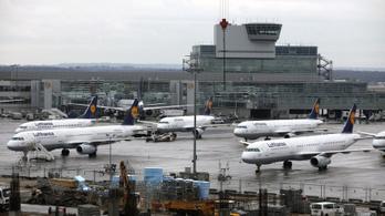 Könnygáztól lett rosszul több ember a frankfurti repülőtéren