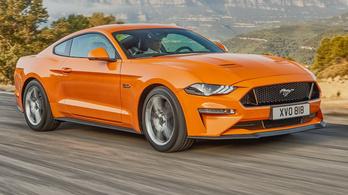 Erősebb és gyengébb lett a Ford Mustang