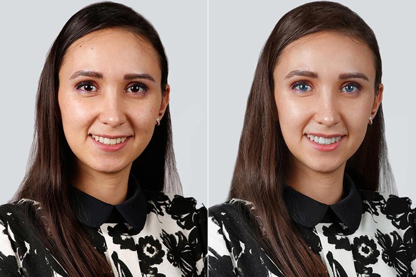 Ezt akarják látni az emberek a tükörben a valódi arcuk helyett - Megdöbbentő fotósorozat