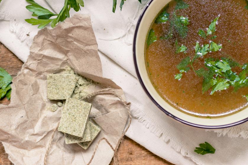 Házi leveskocka mindenféle tartósítószer és ízfokozó nélkül, pofonegyszerűen