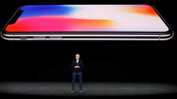 Nálunk 379 ezerről indul az iPhone X