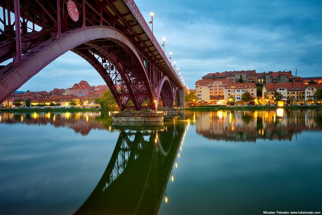 Tudta, hogy Maribor folyója, a Dráva Olaszországban ered?