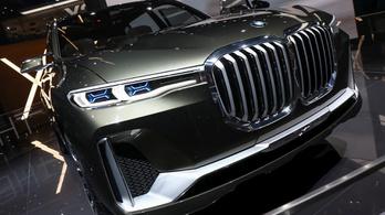 BMW X7: a road presence új szintje