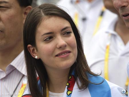 Alexandra hercegnő a pekingi olimpián