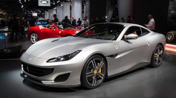 A Ferrarinál az alapmodell is olyan erős, mint hat Suzuki