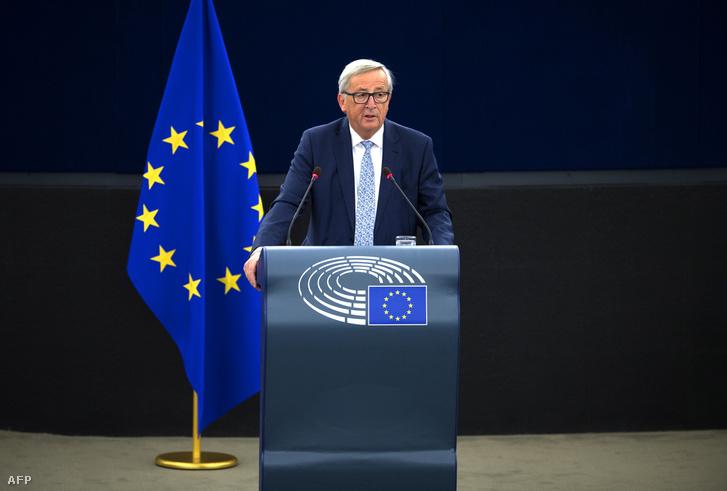 Az Európai Unió következő egy évét meghatározó kezdeményezéseket mutatott be Strasbourgban Jean-Claude Juncker