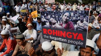 Iszlámista terroristák Mianmart fenyegetik a rohingják miatt