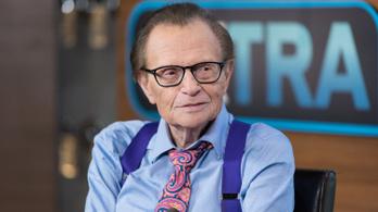 Az infarktusa miatt vették észre időben Larry King tüdőrákját