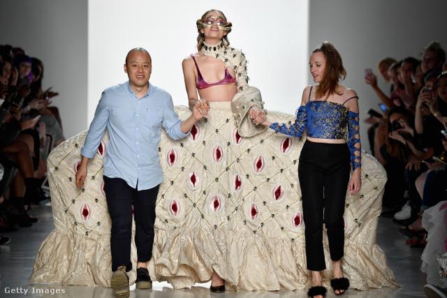 Namilia divatshow, New York, 2017. szeptember 9.