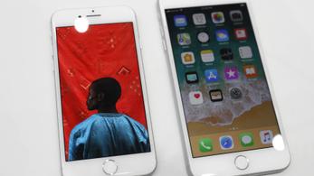 Kisebb aksi van az iPhone 8-ban