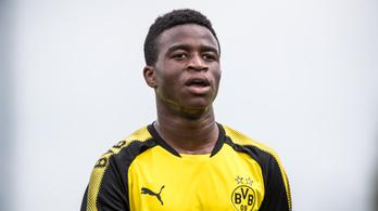 16 gólnál jár 7 meccsen a BVB 12 évese az U17-ben