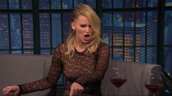 Jennifer Lawrence egy budapesti kocsmában emberkedett részegen
