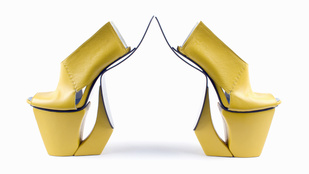 Hordhatatlan cipőművészet