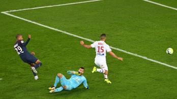 A PSG úgy nyert 2-0-ra, hogy gólt sem lőtt