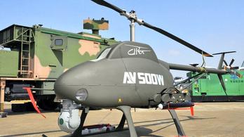 Lopakodó robothelikoptert mutatott be Kína