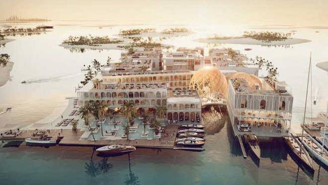 Velence pontos mását építik fel Dubajban