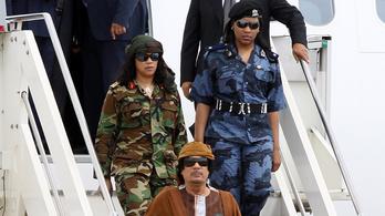 Az afrikai diktátor, aki amazonokkal védette magát