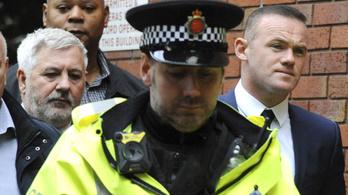 Százórányi közmunkára ítélték a részegen vezető Rooney-t