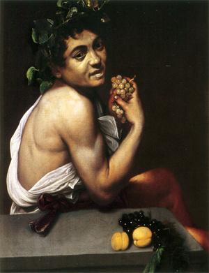 Önarckép: a beteg Bacchus-gyermek (1593–1594)