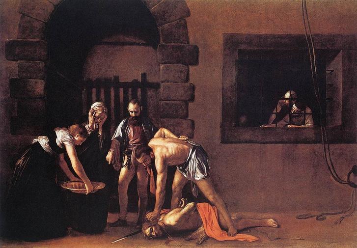 Keresztelő Szent János lefejezése (1607–1608), Valetta, Szent János-társkatedrális