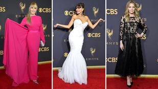 Mutatjuk az Emmy-gála legszebb ruháit