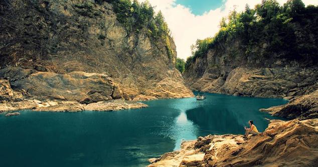 Grand Falls Gorge, New Brunswick