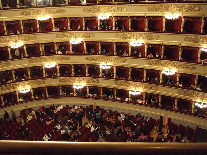 A La Scala nézőtere