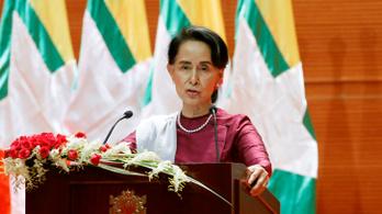 Először ítélte el a rohingják üldözését a mianmari kormányfő