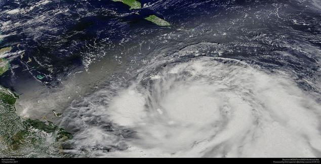 A Maria hurrikán