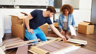 Ki szerel jobban IKEA-bútort, a férfiak vagy a nők?