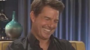 Tom Cruise már viccelődik a múltkori bokatörésén