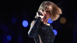 Lopott dalszöveg miatt perelték be Taylor Swiftet