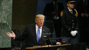 Trump: Lehet, hogy teljesen el kell pusztítanunk Észak-Koreát