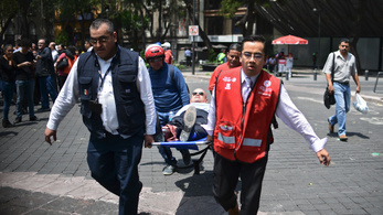 Pusztító földrengés rázta meg Mexikót