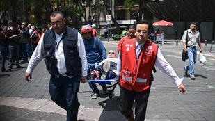 Földrengés rázta meg Mexikóvárost