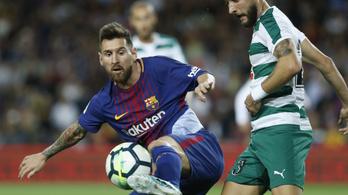 Messi négy góljával kivégezték az Eibart