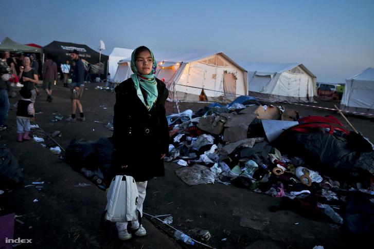 Röszkei menekülttábor, 2015. szeptember