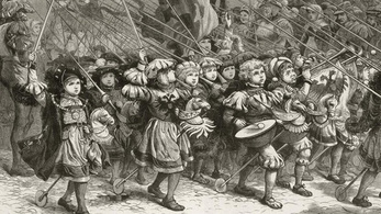 A gyermekek keresztes hadjárata valójában csak egy félrefordítás