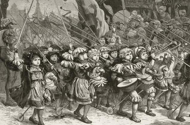 gyermekek keresztes hadjarata