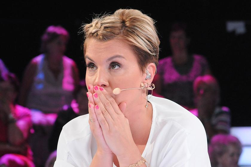 Ábel Anita bakizott a műsorában - Kollégáját hibáztatta miatta