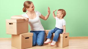 9 tipp, hogy ne legyen olyan stresszes a költözés